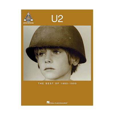 HAL LEONARD GTRCL U2 BEST OF 1980-1990