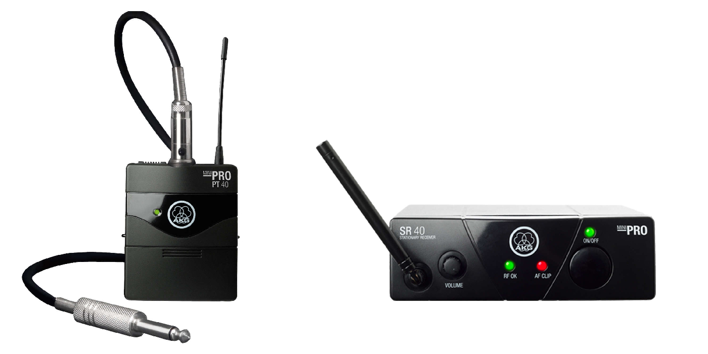 Инструментальная радиосистема AKG WMS40 Mini  Set BD US45B
