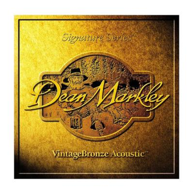 Струны DEAN MARKLEY VINTAGE BRONZE ACOUSTIC 2008 (85/15) XL