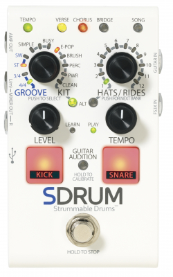 DRUM-машина-педаль DIGITECH SDRUM