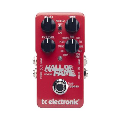 Гитарный эффект TC ELECTRONIC HALL OF FAME REVERB TONEPRINT