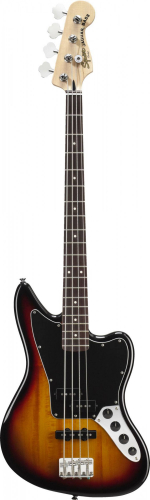 Бас-гитара FENDER SQUIER VINTAGE MODIFIED JAGUAR BASS RW 3-COLOR SUNBURST от нашего магазина